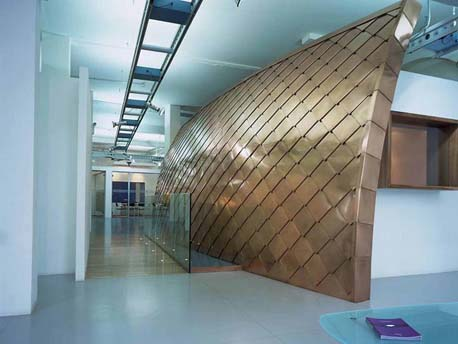 Copper For Interior Architecture